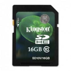 Carte mémoire SDHC Kingston...