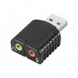 Mini carte son USB 2x Jack...