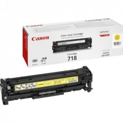 Toner Canon 718 Y 2900 pages