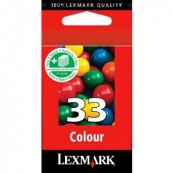 Cartouche LEXMARK N°33 Color