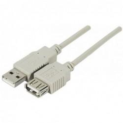 Rallonge USB 2.0 2m