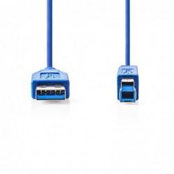 Câble USB 3.0 A-B M/M 2m