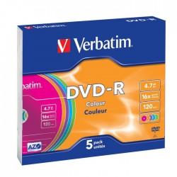 DVD Verbatim DVD-R 4.7Go x5